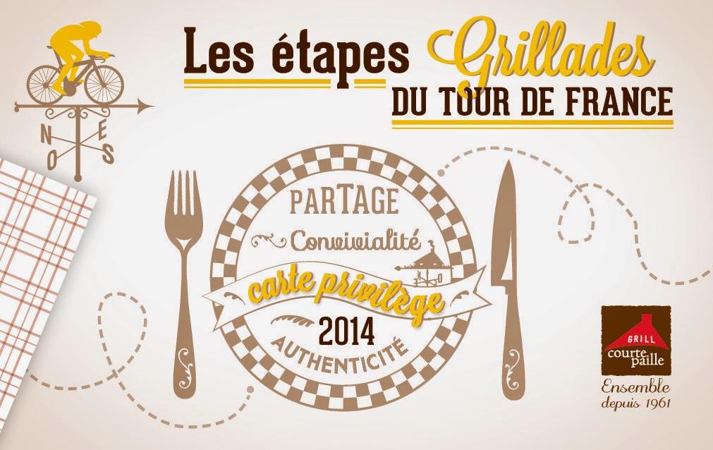 Set de table Tour de france / Juin 2014